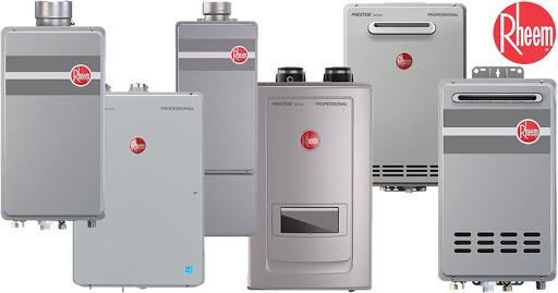 rheem tankless water heater troubleshooting