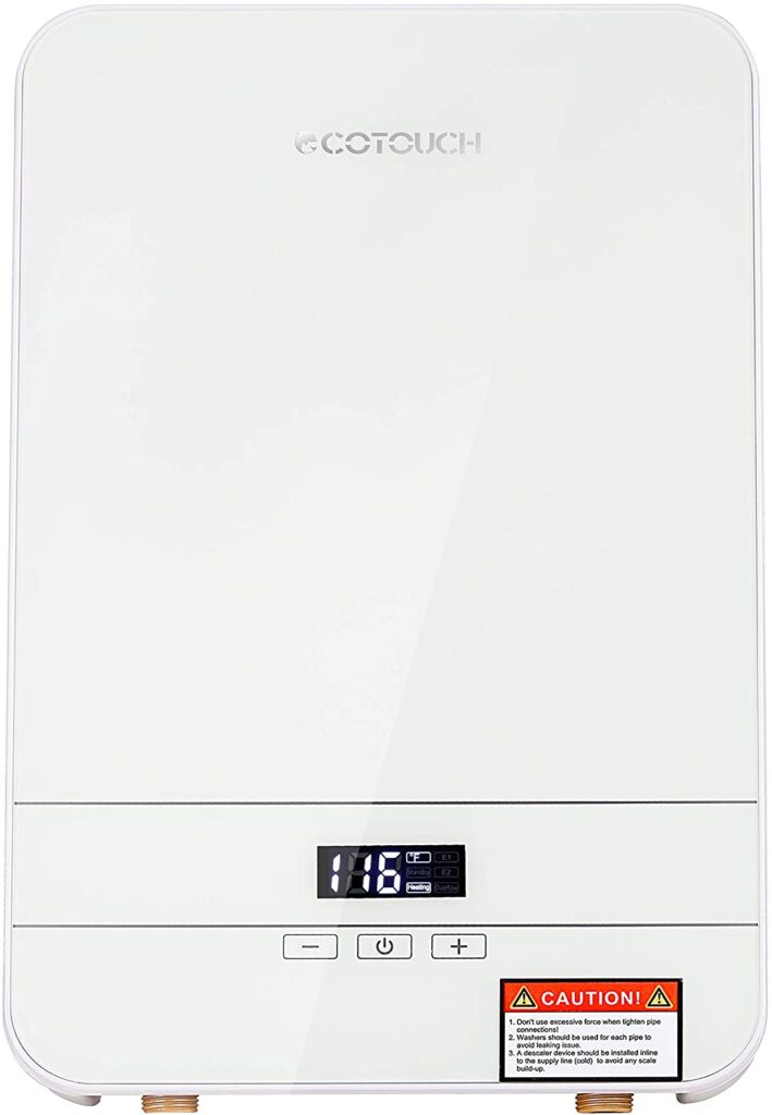 Cheap ECOTOUCH Tankless Water Heater Electric