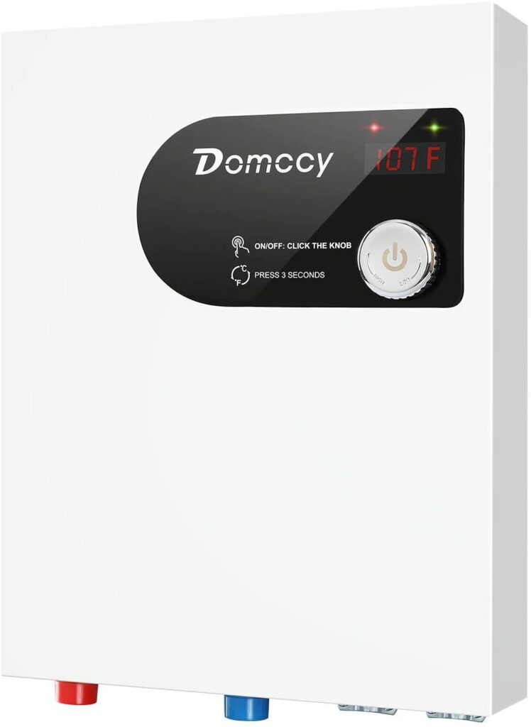 Domccy 24KW Electric Tankless Water Heater Electric